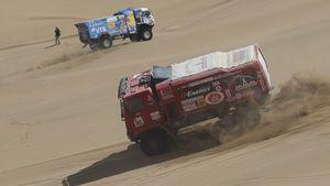 Φορτηγό πάτησε θεατή: Στο ράλι Ντακάρ δεν είναι είδηση
